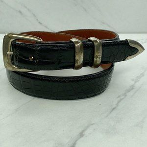 House of Fleming Vintage Alligator Belt Sterling